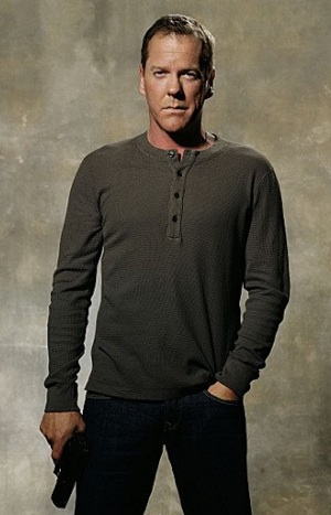 Kiefer Sutherland as Jack Bauer in 24