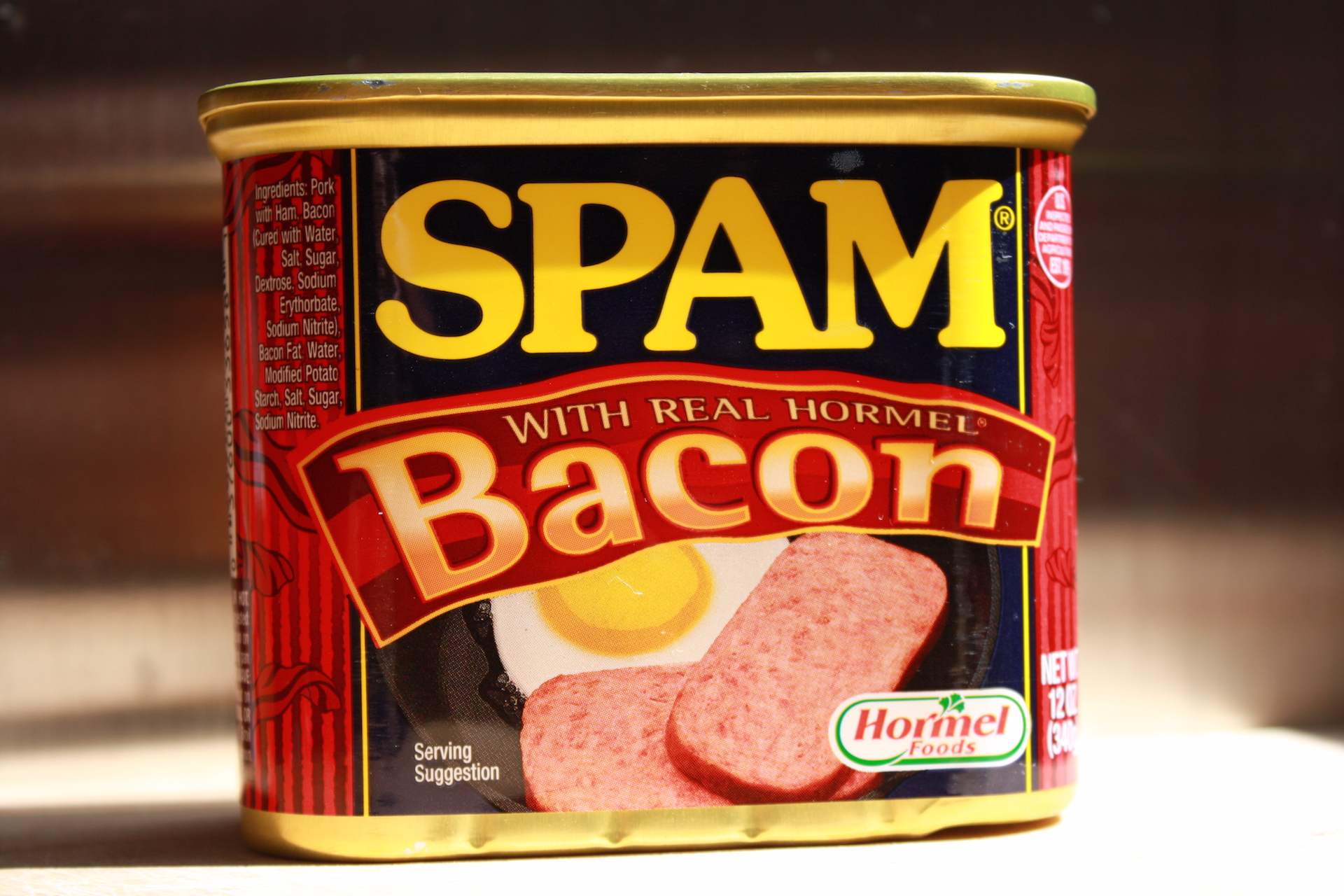 bacon spam