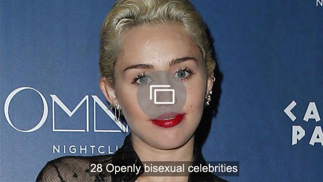 28 Openly bisexual celebrities
