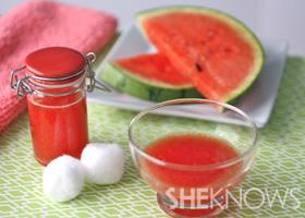 DIY watermelon skin toner | SheKnows.com