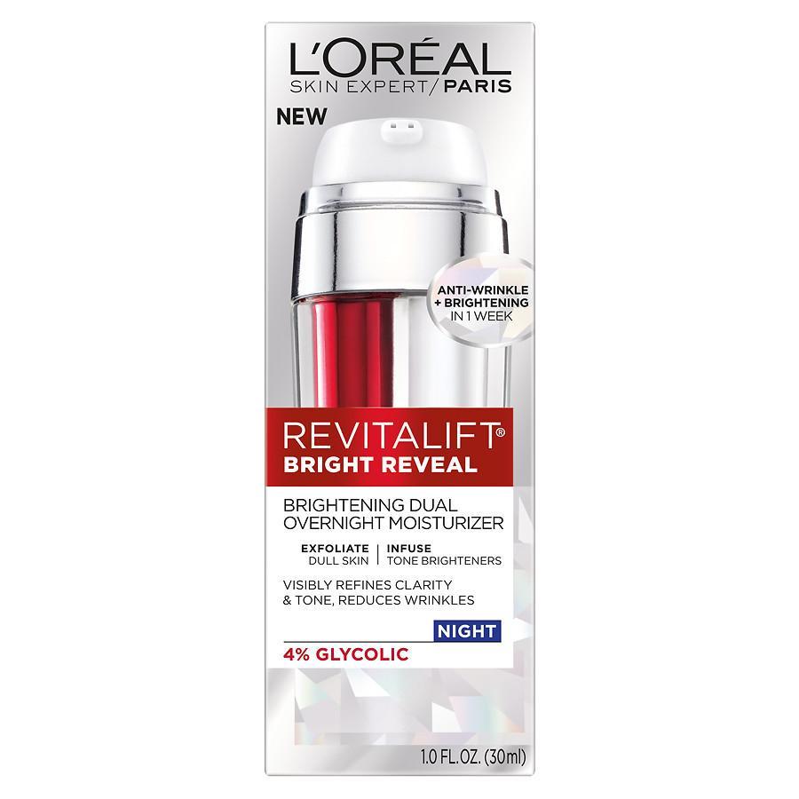 L'Oréal Paris Bright Reveal Brightening Dual Overnight Moisturizer