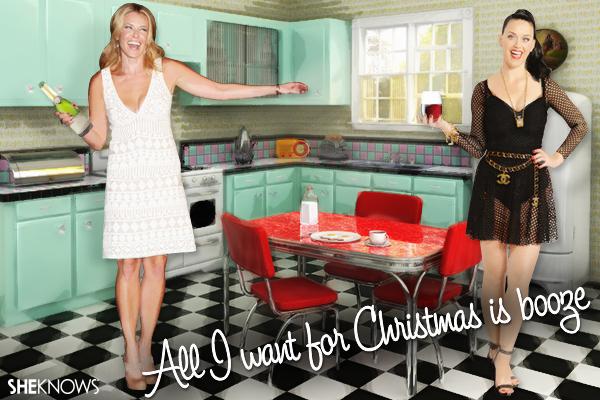 Chelsea Handler Christmas card