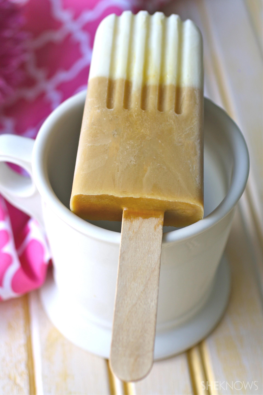 Vanilla latte creamsicles