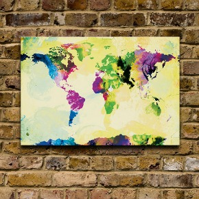 One Colourful World print