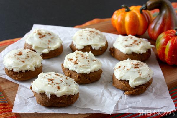 two ingredient pumpkin cake mix cookies