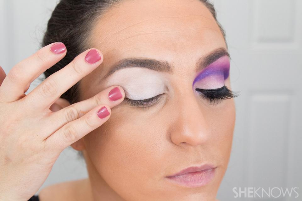 Barbie Halloween Makeup: Step 2