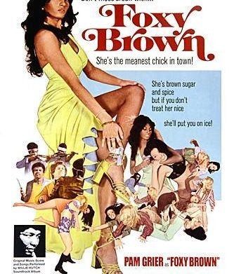 Pam Grier as Foxy Brown in