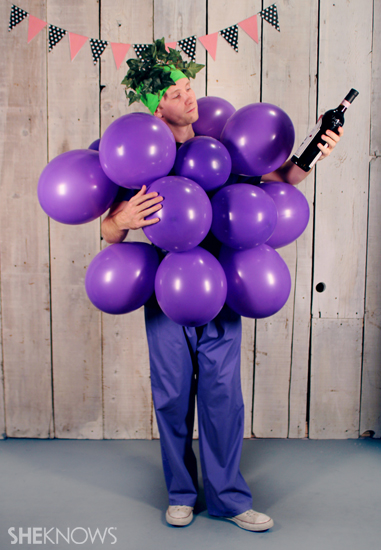 Fruit of the Loom Grapes Halloween costume