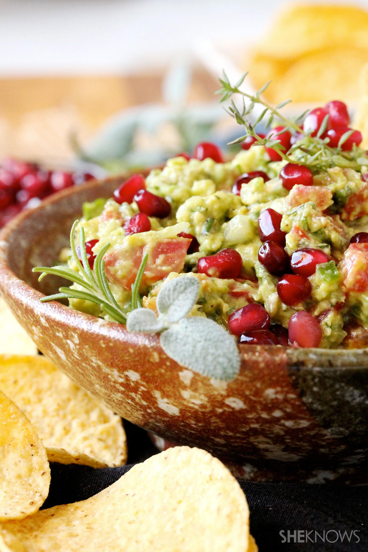 I love Fall guacamole recipe