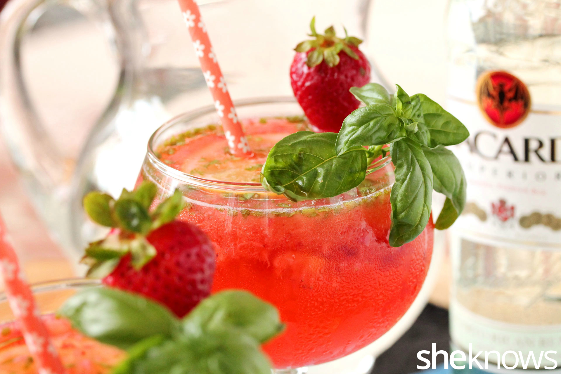 Strawberry-lemonade-basil-drink