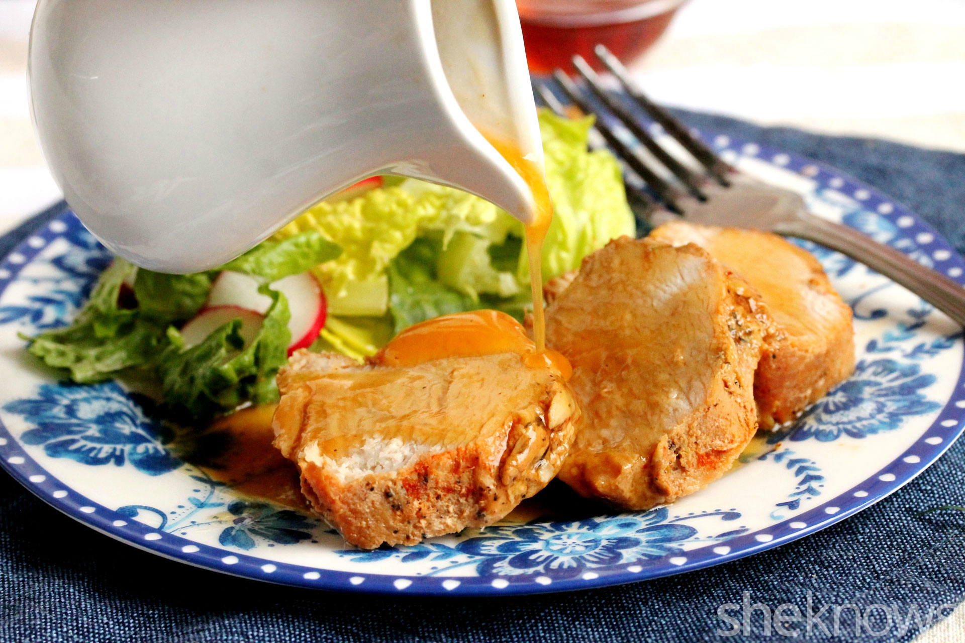 honey-garlic-sauce-on-pork-tenderloin