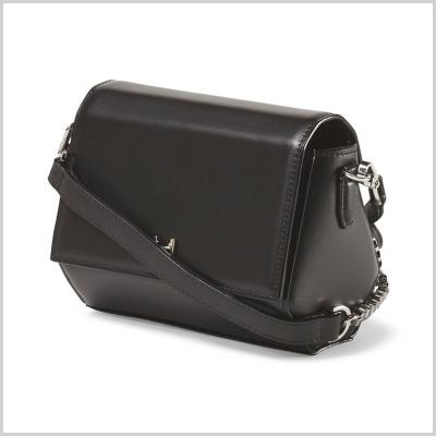 Halston Heritage Leather Mini Crossbody (tjmaxx.com, $150)