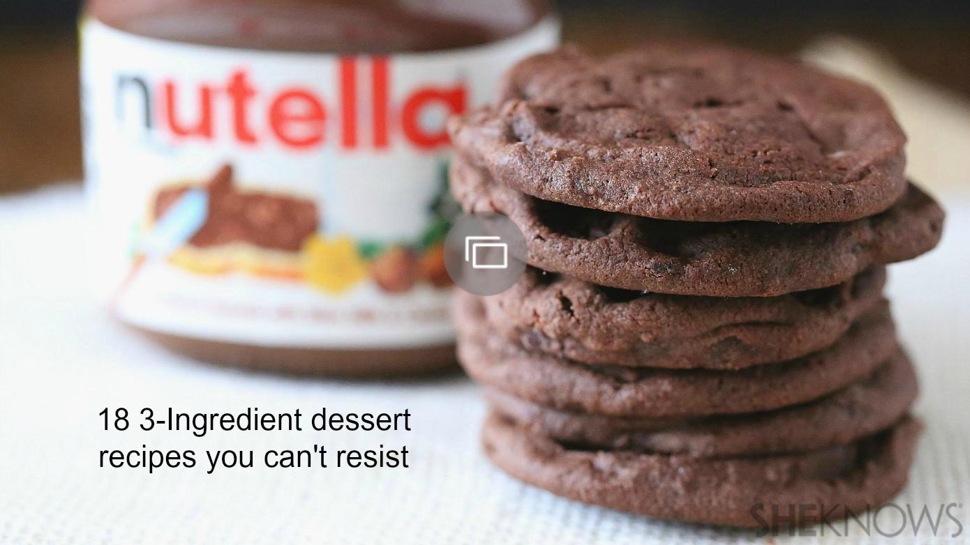 3-ingredient dessert