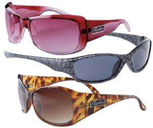 3 pairs of sport sunglasses