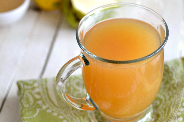 Pear and lemon cider