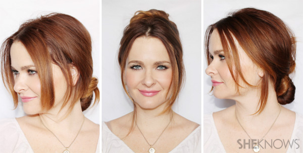 3 updos that only require three bobby pins each | SheKnows.com