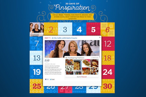 Get ready: 30 Days of Pinspiration!