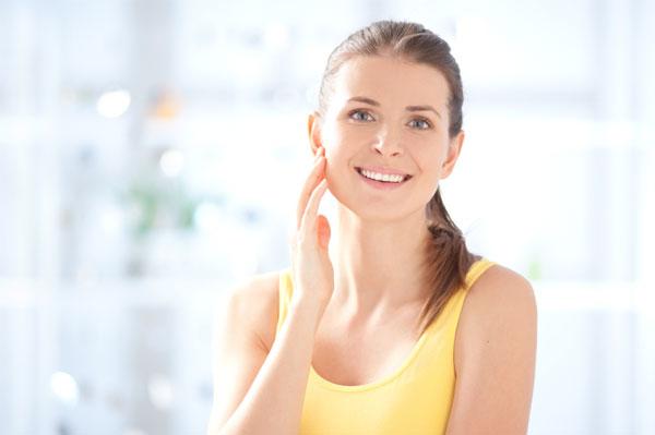 30 something woman skincare