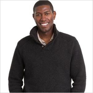 man wearing sweater