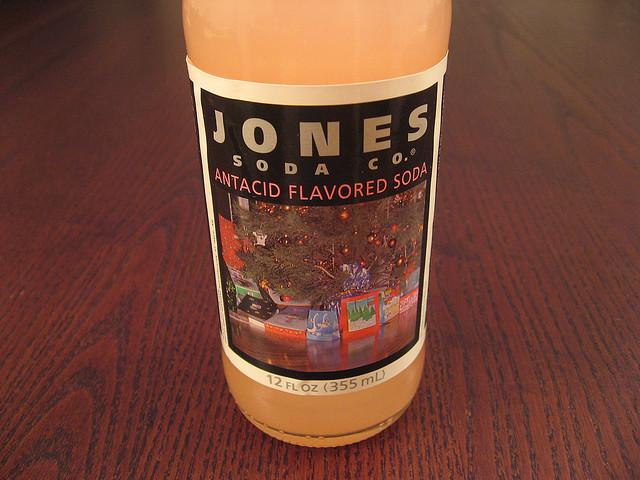 Jones antacid soda