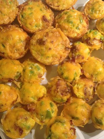 Muffin-tin quiches