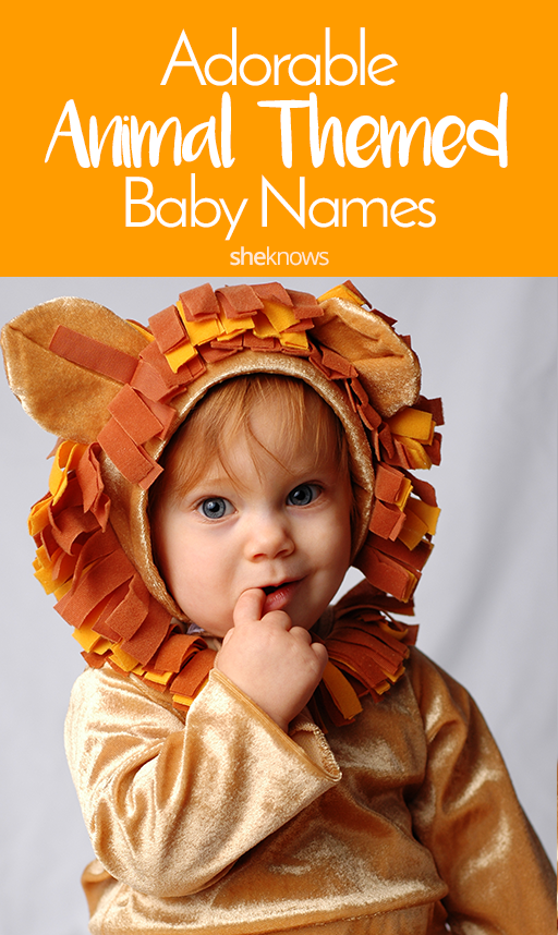 Pin it! Animal-Themed Baby Names