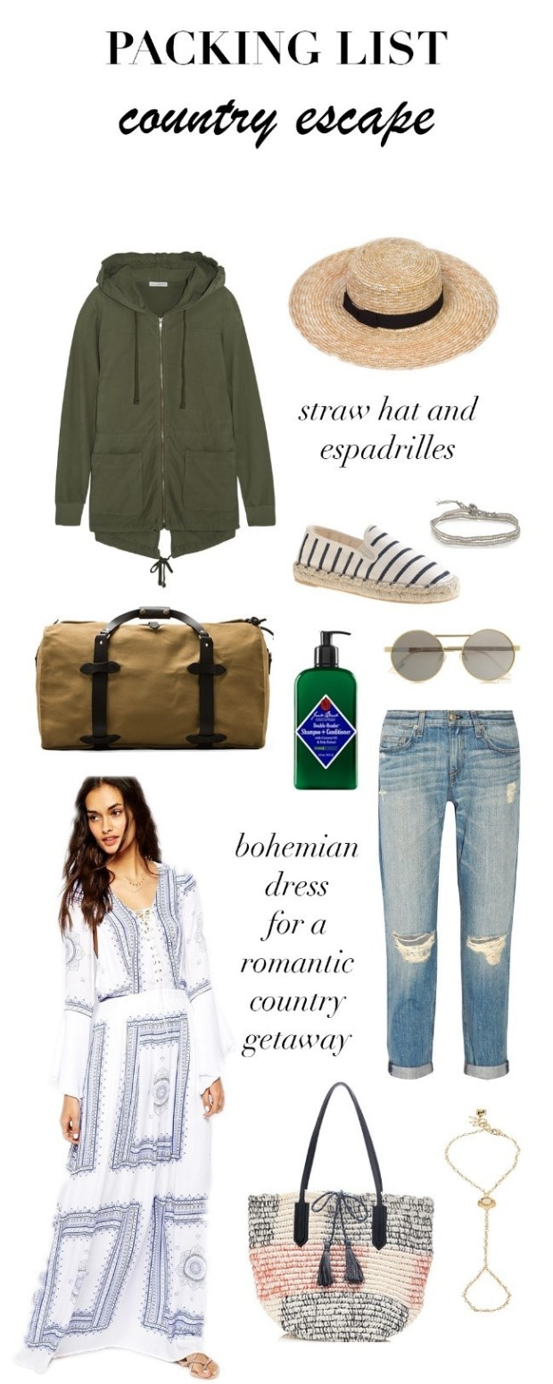 What to pack for a weekend trip with boyfriend