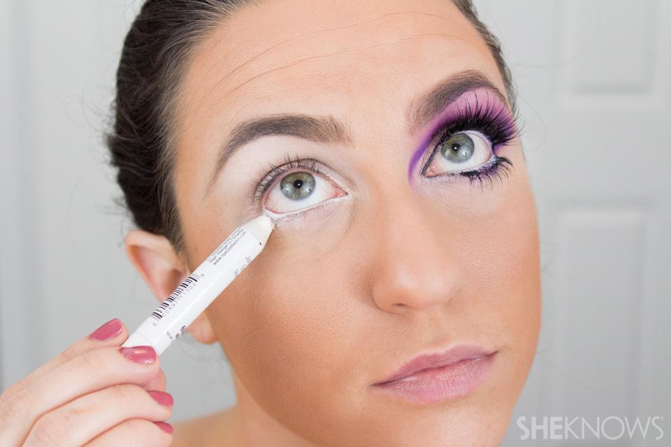 Barbie Halloween Makeup: Step 3