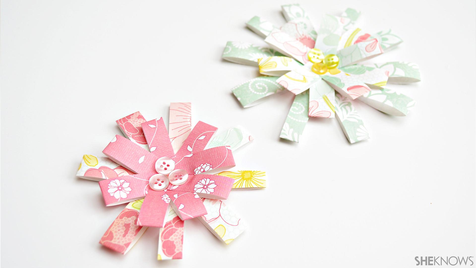 3D paper flowers | Sheknows.com