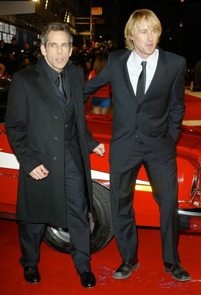 Ben Stiller and Owen Wilson at