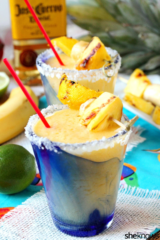grilled-mango-banana-margarita