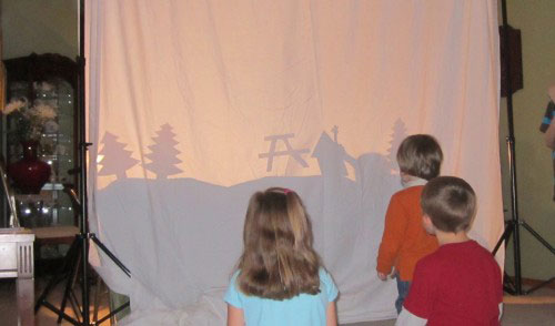 Shadow-puppet shows