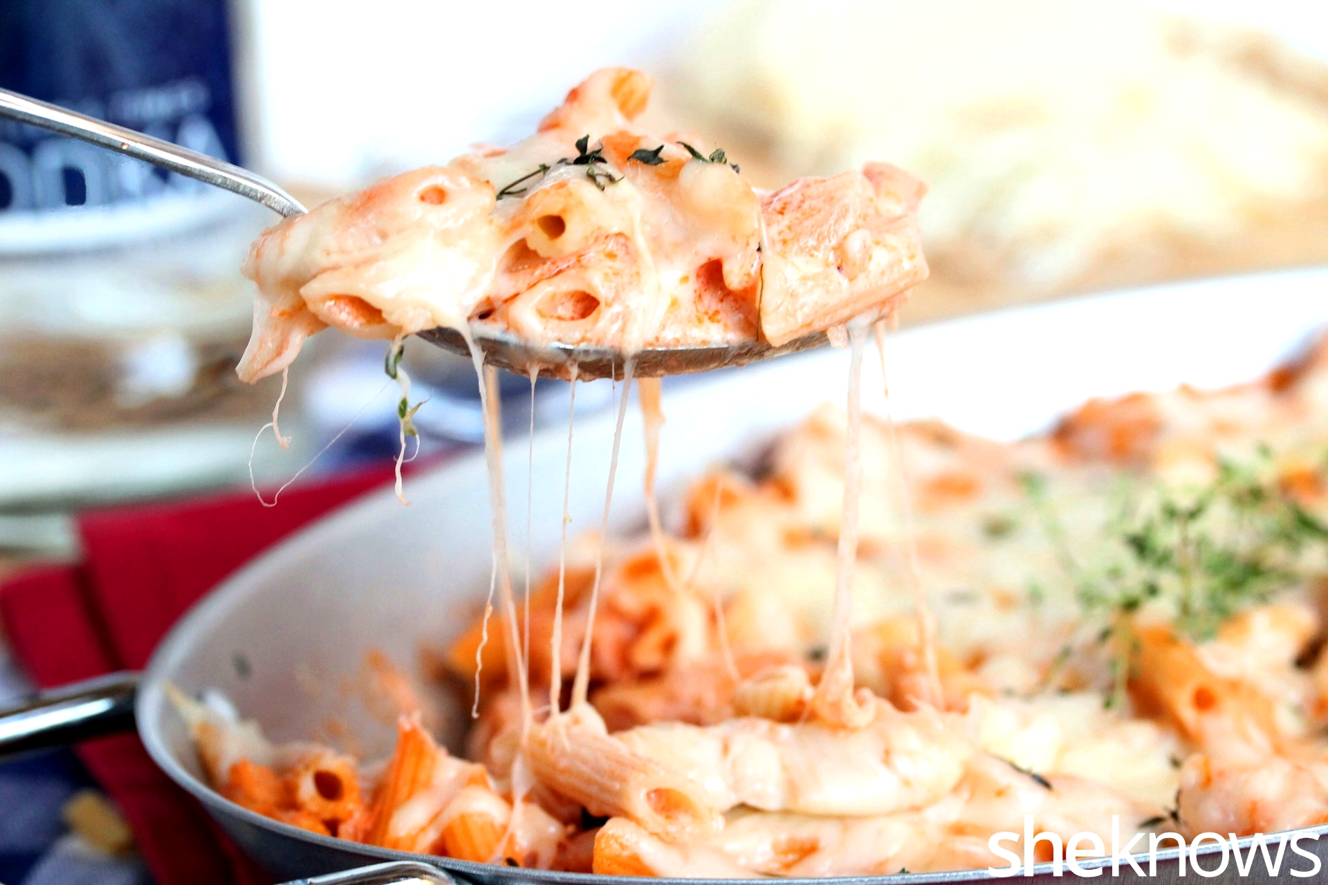 vodka-sauce-with-macaroni-and-cheese