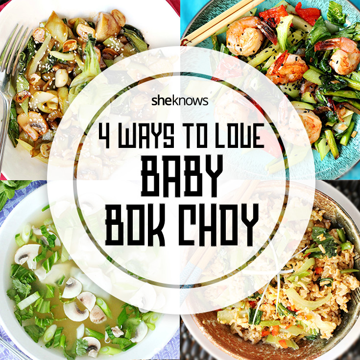 baby bok choy recipes