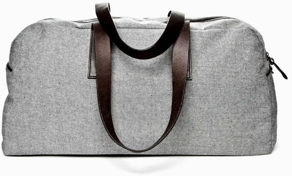 The Reverse Denim Weekender Everlane
