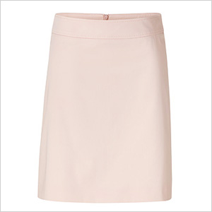 Our pick: Pretty pastel pink A-line skirt (stylebop.com, $200).
