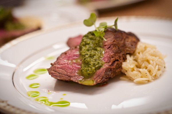 Basque beef tenderloin recipe