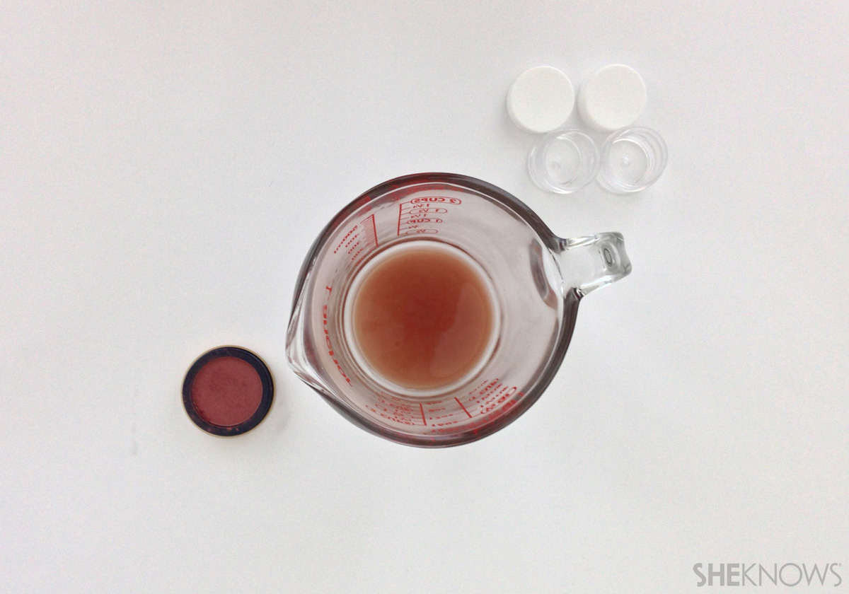DIY Lip stain Step 4. Add your tint