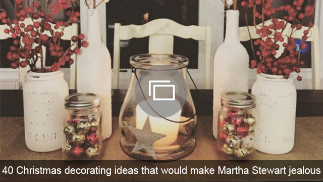 40 Christmas decorating ideas that would make Martha Stewart jealous