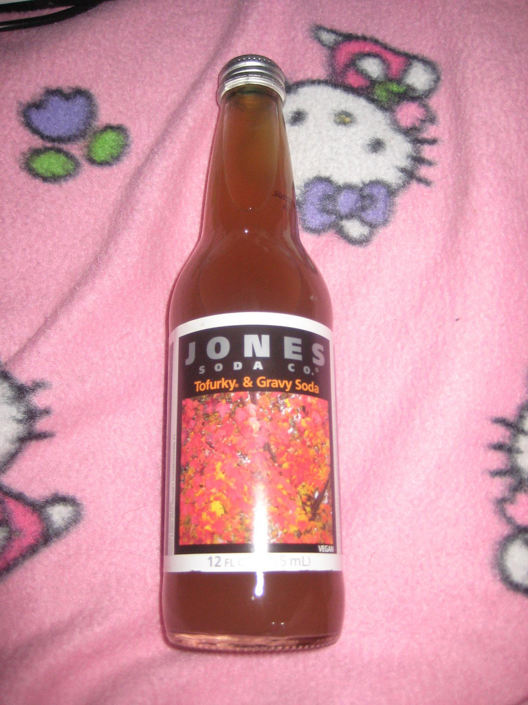 Jones tofurky soda
