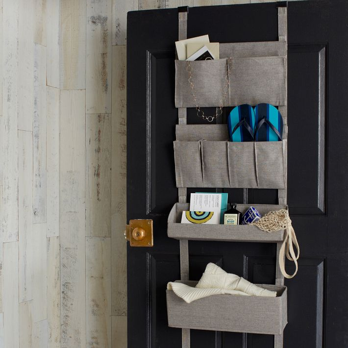 Bamboo Over The Door Organizer