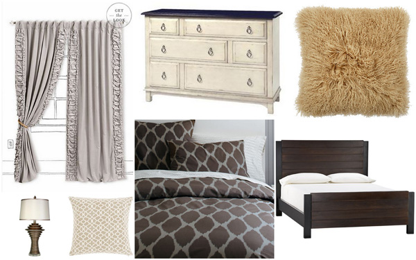 Fall color palette: Neutrals and naturals collage