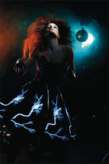 Thunderstorm dress