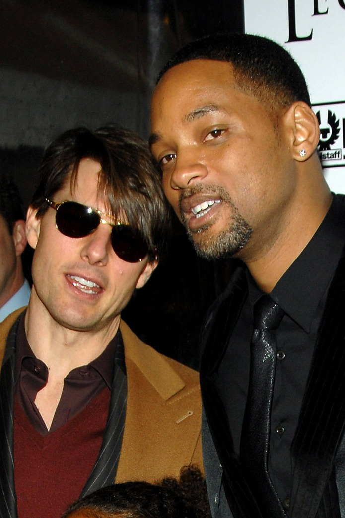 Will Smith and Tom Cruise at