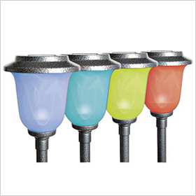 solar powered color changing lights