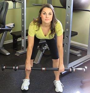 Harley Pasternak's celebrity workout - Stiff leg deadlift