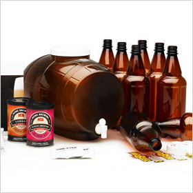 Beer making kit from Sharper Image
