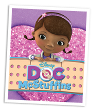 It's just a graphic of Epic Free Doc Mcstuffins Printable