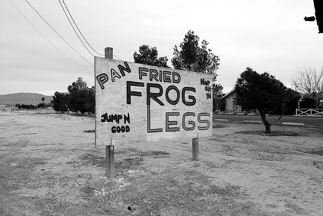 frog legs sign