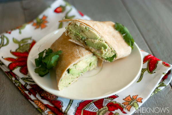 Avocado and lime chickpea salad sandwiches recipe